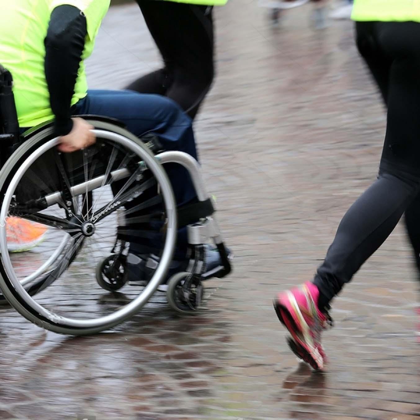 6h run de l'APF France Handicap